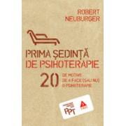 Prima şedinţă de psihoterapie. 20 de motive de a face (sau nu) o psihoterapie.