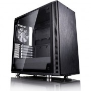 Carcasa Fractal Design Define Mini C Tempered Glass, Middle Tower, fara sursa, Negru