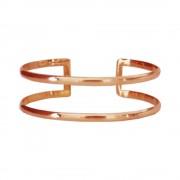 Designtorget Armband Cuff wire rosé