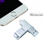 IDISKK 16GB MFI Lighnting 8Pin USB 3.0 Flash Drive for iPhone iPad Macbook PC
