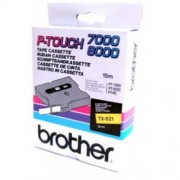 Banda continua laminata Brother TX621, 9mm, 15m