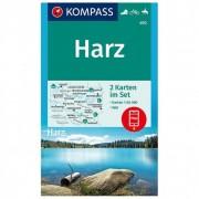 Kompass - Harz - Wandelkaarten 1. Auflage - Neuausgabe