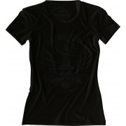Rokker Performance Racing Team Camiseta de las señoras Negro XL