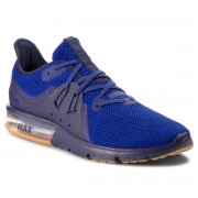 Обувки NIKE - Air Max Sequent 3 921694 405 Obsidian/Deep Royal Blue