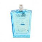 Gianfranco Ferre Acqua Azzurra Eau De Toilette Spray (Tester) 3.4 oz / 100.55 mL Men's Fragrance 483145