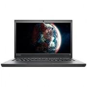Refurbished Lenovo ThinkPad T440 256 GB SSD 8 GB core i7 4600U DOS 14 inch Black Laptop (3 months Seller Warranty)