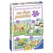 PRIMUL MEU PUZZLE ANIMALE, 2/4/6/8 PIESE - RAVENSBURGER (RVSPC06951)
