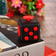 AST Works Fidget Cube Dice Cubes Toys Relief Pressure Finger Decompression Toys Gifts