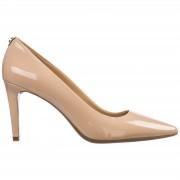 Michael Kors Decolletes decoltè scarpe donna con tacco pelle dorothy