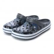 【SALE 50%OFF】クロックス crocs クロッグサンダル Crocband Graphic III Clog 205330-97G (グレー) ミフト mift レディース