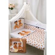 Золотой Гусь Комплект в кроватку Золотой Гусь Королевские мишки (7 предметов)