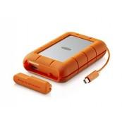 LaCie Rugged RAID 4TB 2.0 4000GB Naranja, Plata Disco duro externo (Unidad de disco duro, 256-bit AES, Naranja, Plata, Resistente al polvo, Resistente a golpes, Resistente al agua, Alámbrico)