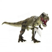 Premium Cikoo New Jurassic World Park Tyrannosaurus Rex Dinosaur Plastic Toy Model Kids Gifts