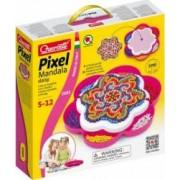 Joc creativ Fanta Color Pixel Mandala Quercetti creatie imagini mozaic Mandala 1200 piese