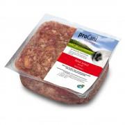 proCani Mélange BARF Bœuf Select + 10 % de fruits & légumes - 8 x 1000 g
