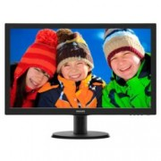 "Монитор 23.6"" (59.94 cm) Philips 243V5LHAB, FULL HD LED, 1ms, 10 000 000:1, 250cd/m2, HDMI & DVI"