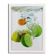 Rama foto lemon Procart format 30x40 cm Alb