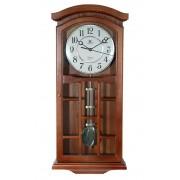 Ceas de perete cu pendul, Westminster 60x25 cm - 6742-0 Stejar