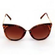 Just Pretty Things Cat-eye Sunglasses(Brown)