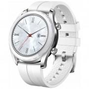 Reloj Smart watch Huawei GT Elegant blanco pantalla AMOLED 42.88mm / acelerómetro / GPS / resistente al agua / IOS / Android