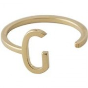 Design Letters Ring Gold A-Z G