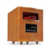 Klarstein Heatbox, încălzitor cu infraroșu, 1500 W, 12 h cronometru, telecomandă, stejar (BRD-Heatbox-LGT)