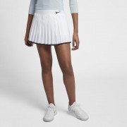 NikeCourt Victory Damen-Tennisrock - Weiß