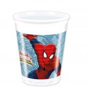 Spiderman Warriors čaša plastična 1/8 200 ml