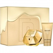 Paco Rabanne Lady Million Set ( Eau De Parfum 80 Ml + Body Lotion 100 Ml) (3349668546107)