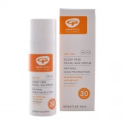 Green People GreenPeople Scent-Free Facial Sun Cream SPF 30 (50 ml)