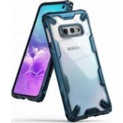 Husa Samsung Galaxy S10 Lite Ringke FUSION X Transparent Albastru