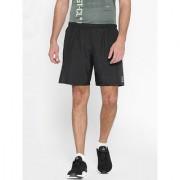 Reebok Men's Polyester Black Workout Sports Shorts