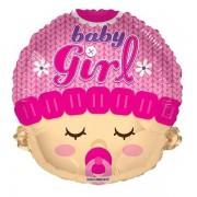 Balon folie figurina Baby Girl