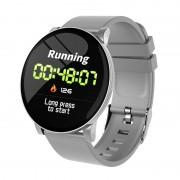 W8 1.3-inch Round Screen Multi-functional Bluetooth 4.4 Sports Smart Watch - Grey