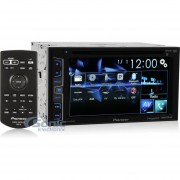 Pioneer AVH-X2700BS Doble DIN Bluetooth En El Tablero / Receptor FM W / 6.2 '' LCD Display Touchscreen DVD / AM-negro