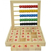 Abacus Kid's Educational Toy Counting Numbers and Maths Learning Box