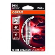 Osram Night Breaker Unlimited H1 1db - 64150NBU-01B autós izzó