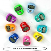 New Finger Tally Counter Watch Shaped Adjustable