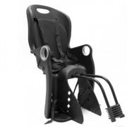 Scaun de Bicicleta pentru Copii cu Centuri si Suport Picioare, Dimensiuni 85x37cm, Culoare Negru
