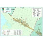 Harta Comunei Suhaia TR - sipci de lemn