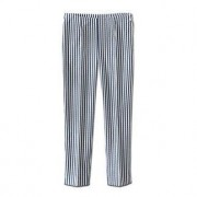 Reutter Seersucker-broek 'Blue Stripes', 34 - blauw/wit