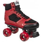 Chaya Jump rolschaatsen heren rood/zwart maat 38