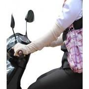 UNIQUE- HANDS CARE GENTS/LADIES BIKE HAND GLOVES - SKIN COLOR - PURE COTTON
