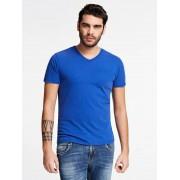 Guess T-Shirt Ronde Hals - Zwart multi - Size: Large