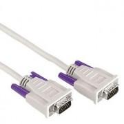 Hama Monitor VGA Connecting Cable,15-pin HDD male - 15-pin HDD male, 1.8 m cavo VGA 1,8 m VGA (D-Sub) Grigio
