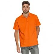 Lemon & Soda Polo shirt oranje voor heren