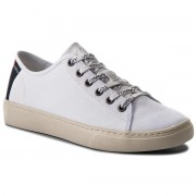 Сникърси TOMMY HILFIGER - JEANS Tommy Jeans Light Textile Low EM0EM00102 White 100
