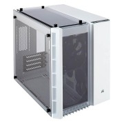 Corsair Crystal 280x Tempered Glass Micro-atx Case - White