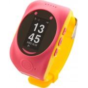 """Smartwatch MyKi Watch, Display OLED 0.96"""", Wi-Fi, 2G, dedicat pentru copii (Roz/Galben)"""