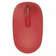 """Microsoft """"Rato Microsoft Sem Fios Mobile 1850 Vermelho"""""""